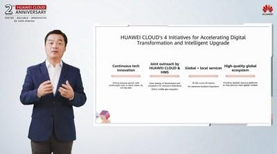 Zhang Ping'an, Vicepresidente sénior de Huawei, Director Ejecutivo de la Unidad de Negocios Huawei Cloud y Presidente de Huawei Consumer Cloud Services.